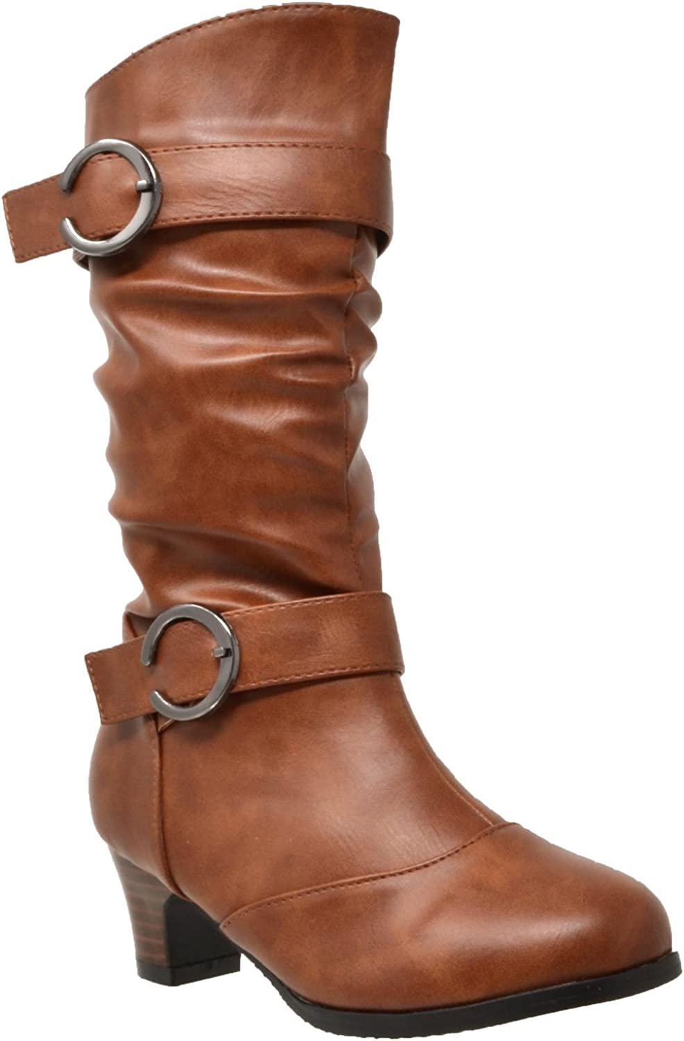 Generation Y Kids Girls Boots Mid Calf