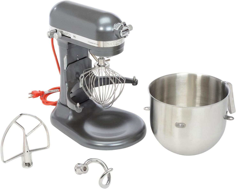 KitchenAid174; KSM8990DP Commercial 8 Qt. Bowl Mixer, Dark Pewter, Lot of 1