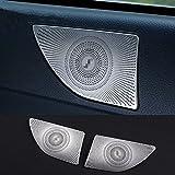 Fodimex - for Mercedes Benz E Class Coupe C207 Car Rear Audio Speaker Frame Decal Sticker