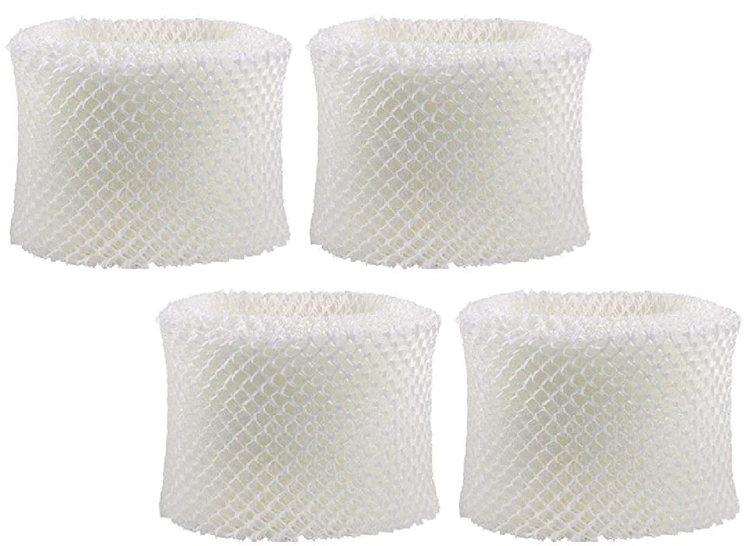 Nispira 4 Packs Humidifier Wick Filter Replacement Compatible Holmes HWF75 HWF75CS HWF75PDQ-U Filter D Fits White Westinghouse, Sunbeam