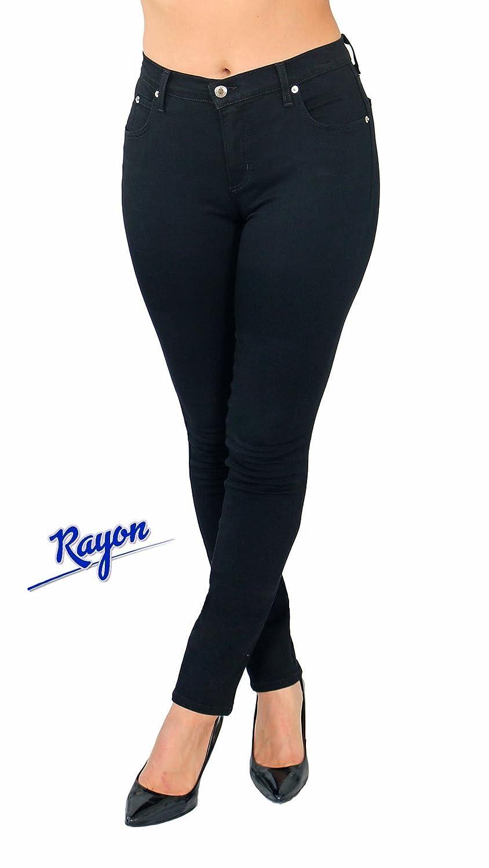 TrueSlim Rayon Jeggings Black