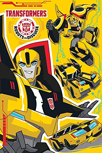 Amazon.com: Transformers: Robots In Disguise - TV Show Poster ...