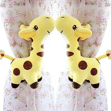 2 Pcs Mignon Girafes Rideau Embrasse/Embrasse Pour Chambre Du0027enfant, ...
