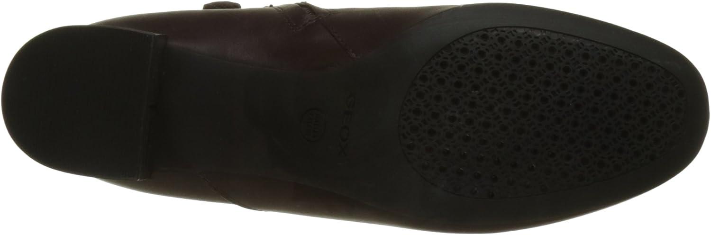 Viele Stile Designer Zu Verkaufen Geox Damen D Audalies Mid B Stiefel Rot Dk Burgundy Chestnut wUmgM 7VdPA M2YxI