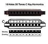 JSL Harmonica, Standard Diatonic Key of C 10