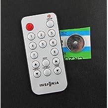 Original Insignia HD AM/FM Radio Stand-Alone Tuner Remote Control for Model NS-HDTUNE