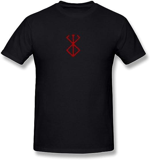 Delifhted Men's Berserk Manga Logo T-Shirt Black tee