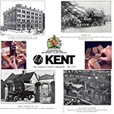 Kent Set of Hair Pocket Combs, Tortoise 81T
