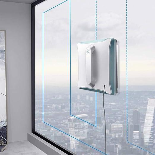 XXSXKA Limpieza de Cristales Inteligentes Robot Home Cubierta Limpieza de Cristales automática Máquina multifunción de Cristal de Ventana Artefacto (Azul y Negro): Amazon.es: Hogar