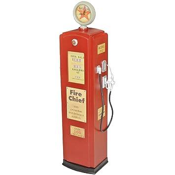 Promobo -Meuble Vitrine Géante Rétro Vintage Design Pompe à Essence ...