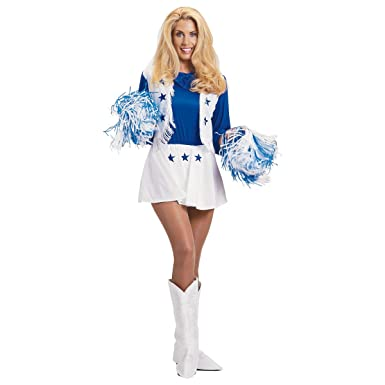 d75af7093 Image Unavailable. Image not available for. Color  Dallas Cowboys  Cheerleader Adult Costume ...