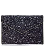 Rebecca Minkoff Women's Glitter Leo Clutch Purple Multi One Size
