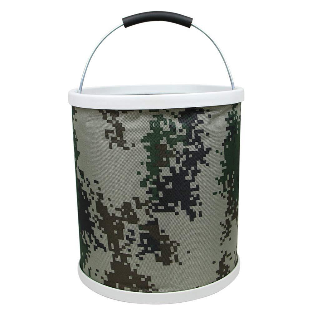 ChenBing ChenBing ChenBing Faltbarer Campingvorratsbehälter Camouflage Folding Eimer Portable Canvas Portable Angeln Car Wash Eimer. Für Camping Reisen Wandern B07QGTNFF1 Eimer 2bb119
