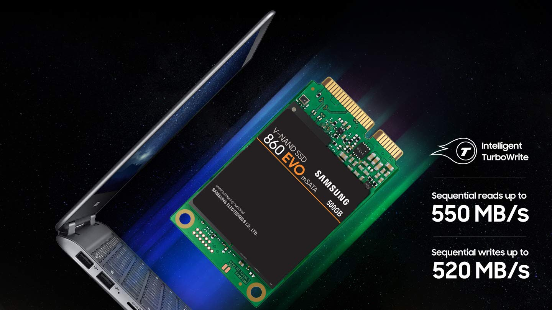 Samsung SSD 860 EVO 1TB mSATA Internal SSD (MZ-M6E1T0BW) by Samsung (Image #5)