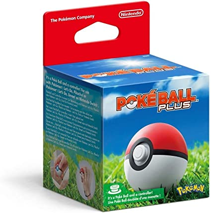 Poké Ball Plus: Nintendo: Amazon.es: Videojuegos