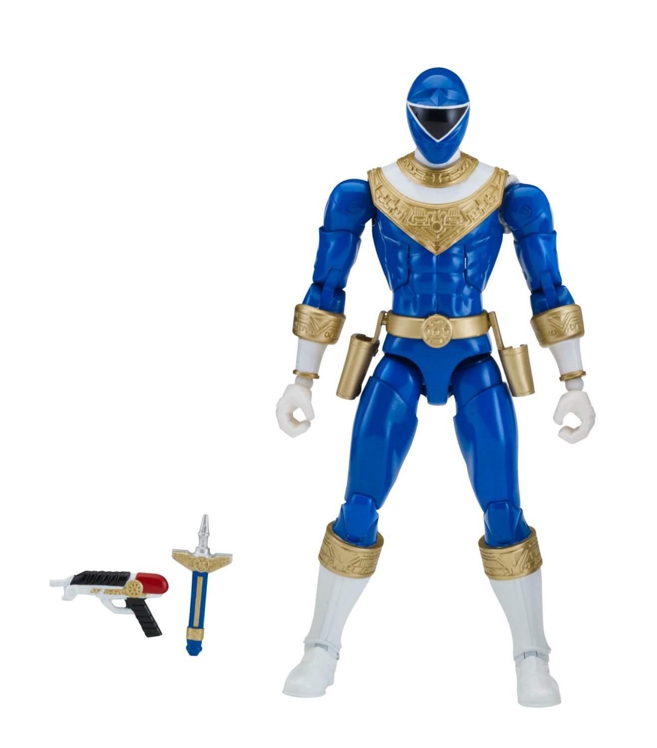 Power Rangers Zeo Action Figure, Blue by Power Rangers (Image #2)