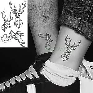 3 PC Impermeable Etiqueta engomada del Tatuaje 10.5 * 6 cm Tatuaje ...