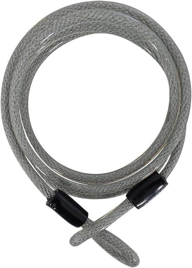 Oxford Cable De Seguridad Bicicleta Lockmate12-2.5M X 12Mm Plata ...