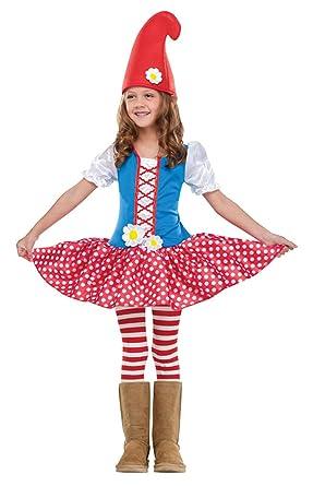 Niñas Niños Infantil, diseño de gnomo Fancy Dress Party Día ...