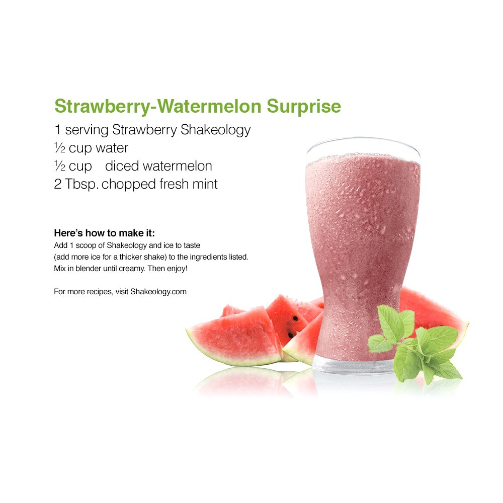 Shakeology Strawberry 30 Servings (bulk) in a BAG