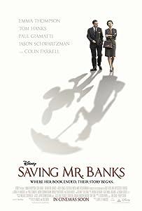 SAVING MR. BANKS MOVIE POSTER 2 Sided ORIGINAL 27x40 TOM HANKS EMMA THOMPSON
