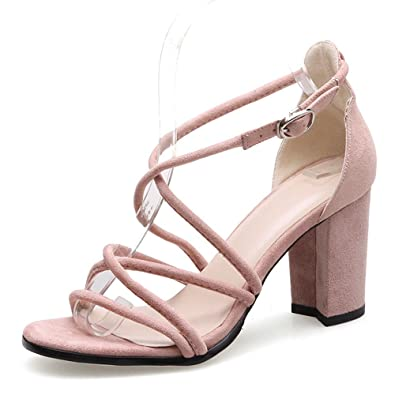 Herr Sandalen High Frau Fett Tau Heel Cross Sexy Xzgc Und Strap zpGUSVqM