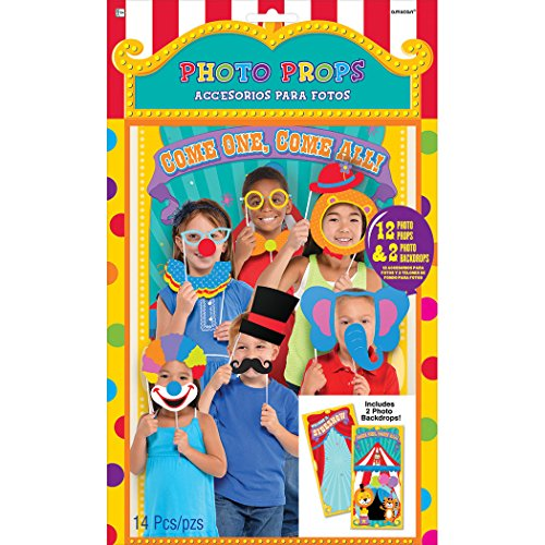 Photo Props Carnival Games (14ct)