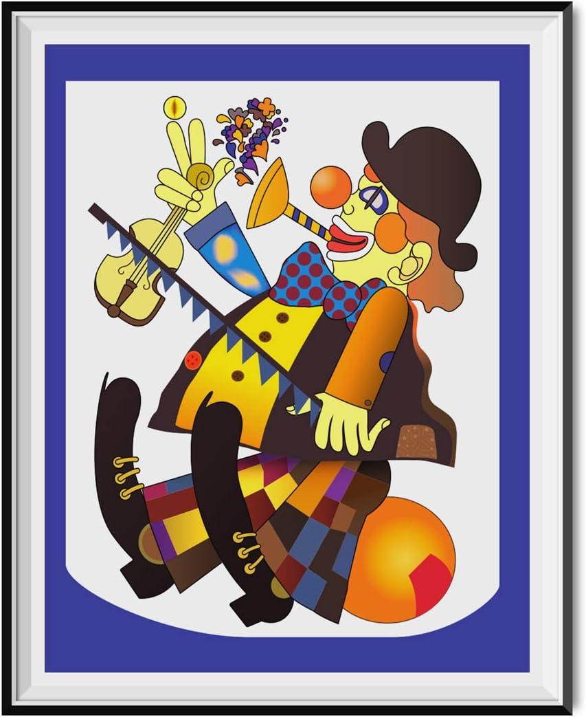 My Party Shirt Unmovable Clown Poster Jim Pam Halpert House The Office TV Dunder Mifflin 18x24