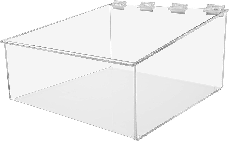 Marketing Holders Bread Bin Food Retail Container Box Premium Display Case 10 1/4