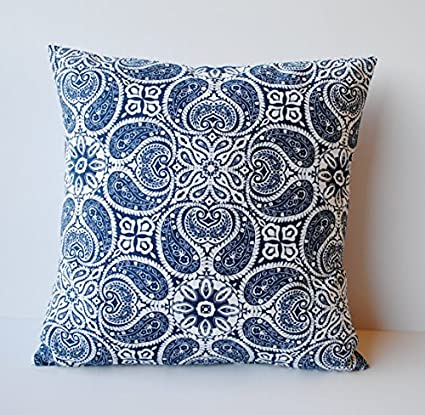 Amazon One Navy Medallion Pillow Cover 40 Cushion Decorative Stunning Medallion Pillow Covers