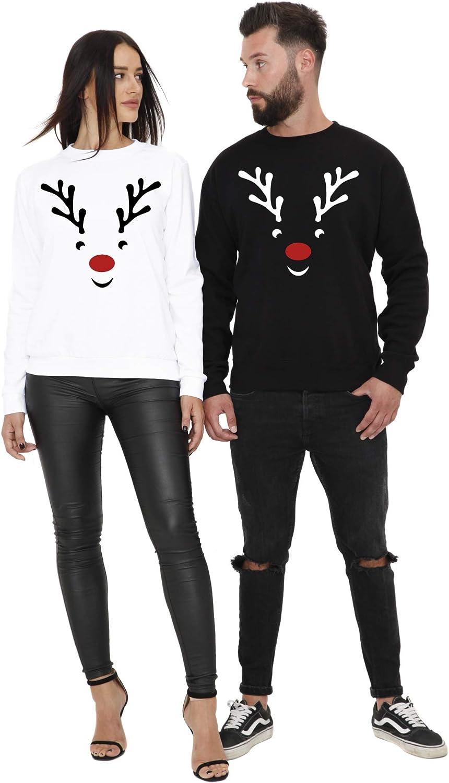 Cold /& Heartless P/ärchen Pullover Set Rudolph zu Weihnachten als Partner Geschenk