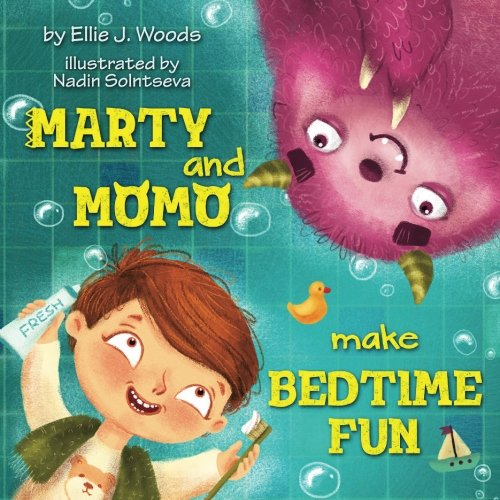 Read Online Marty and Momo Make Bedtime Fun: (Children's book about a Boy and his friend Momo the Monster, Bedtime Story, Rhyming Books, Picture Books, Ages 3-8, Preschool Books, Kids Books) PDF