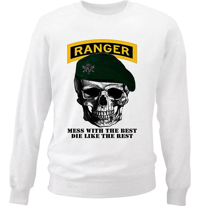 Teesquare1st USA ARMY RANGER Sudadera Size Small
