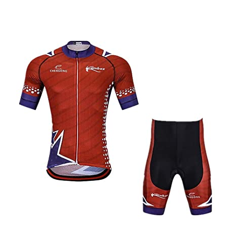 YGBH Jersey de Ciclismo para Hombre Traje Ciclismo Correa ...