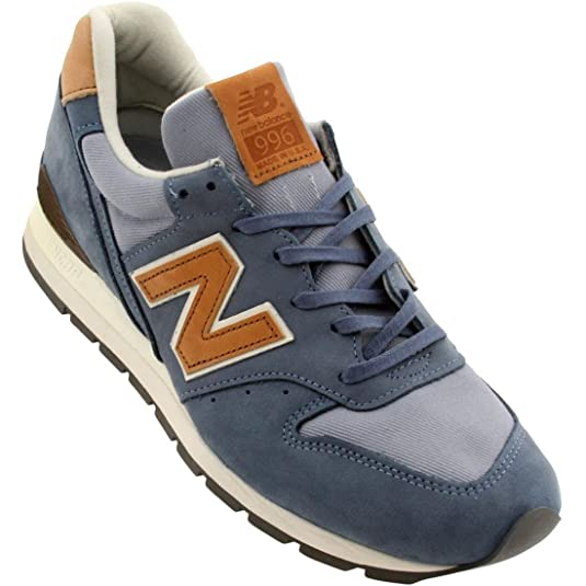 Amazon.com | New Balance 996 (Distinct Weekenders) (Made In USA), Blue 8.5  D(M) US | Fashion Sneakers