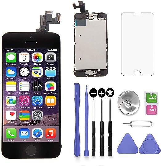 SNIDII Écran LCD de remplacement pour iPhone 5C Écran tactile LCD ...