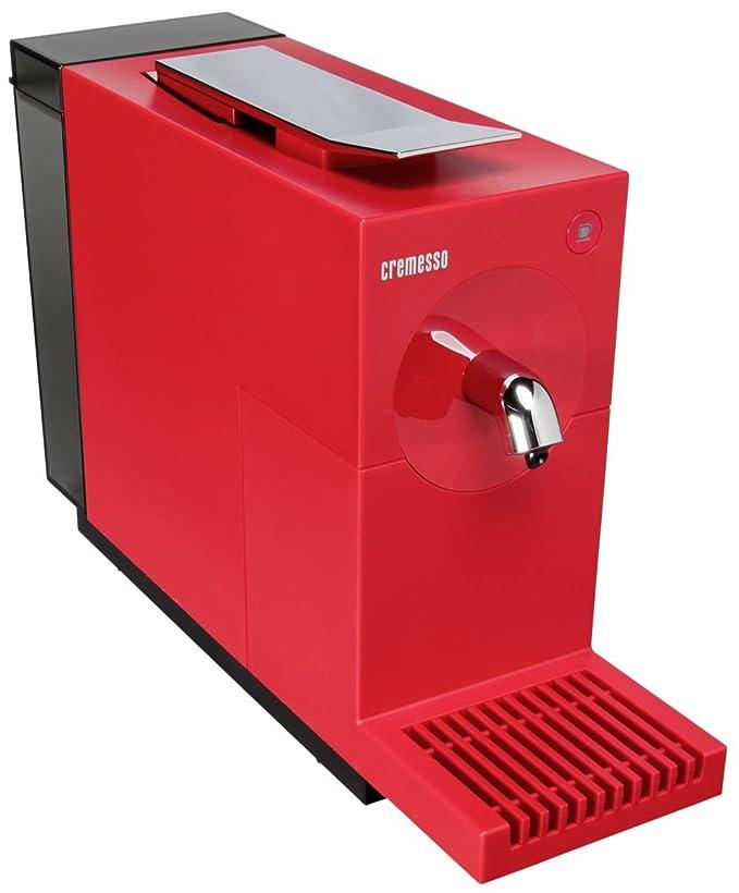 Cremesso Uno Fire Red - Cafetera de cápsulas, color rojo