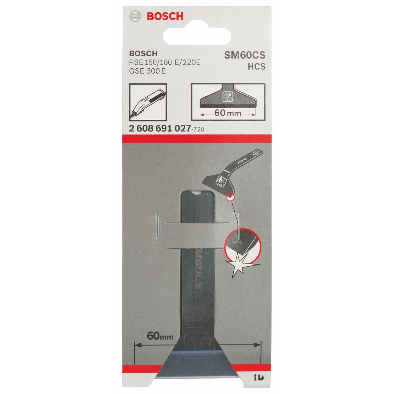 60 mm Bosch 2 608 691 027 pack de 1 Rascador SM 60 CS