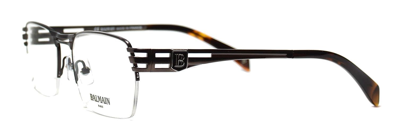Eyeglasses Balmain BL3011 02 semi rimless frame Size:55-18-140