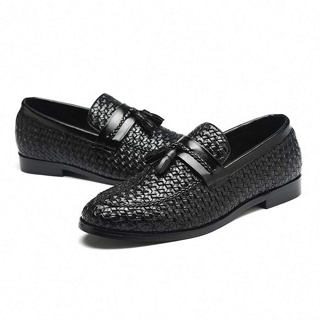 9073a785f6c7 Amazon.com: Starttwin Men Dress Shoes Breathable Comfortable Tassel ...