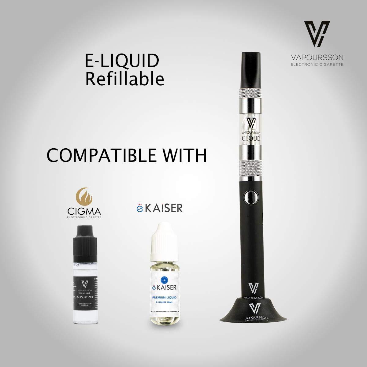 Vapoursson Bobina para la nube Clearomizer y Rexza | 3 Pack | Para el cigarrillo electrónico E Shisha | Durable - Mas vapor | Larga duración - de vapor ...