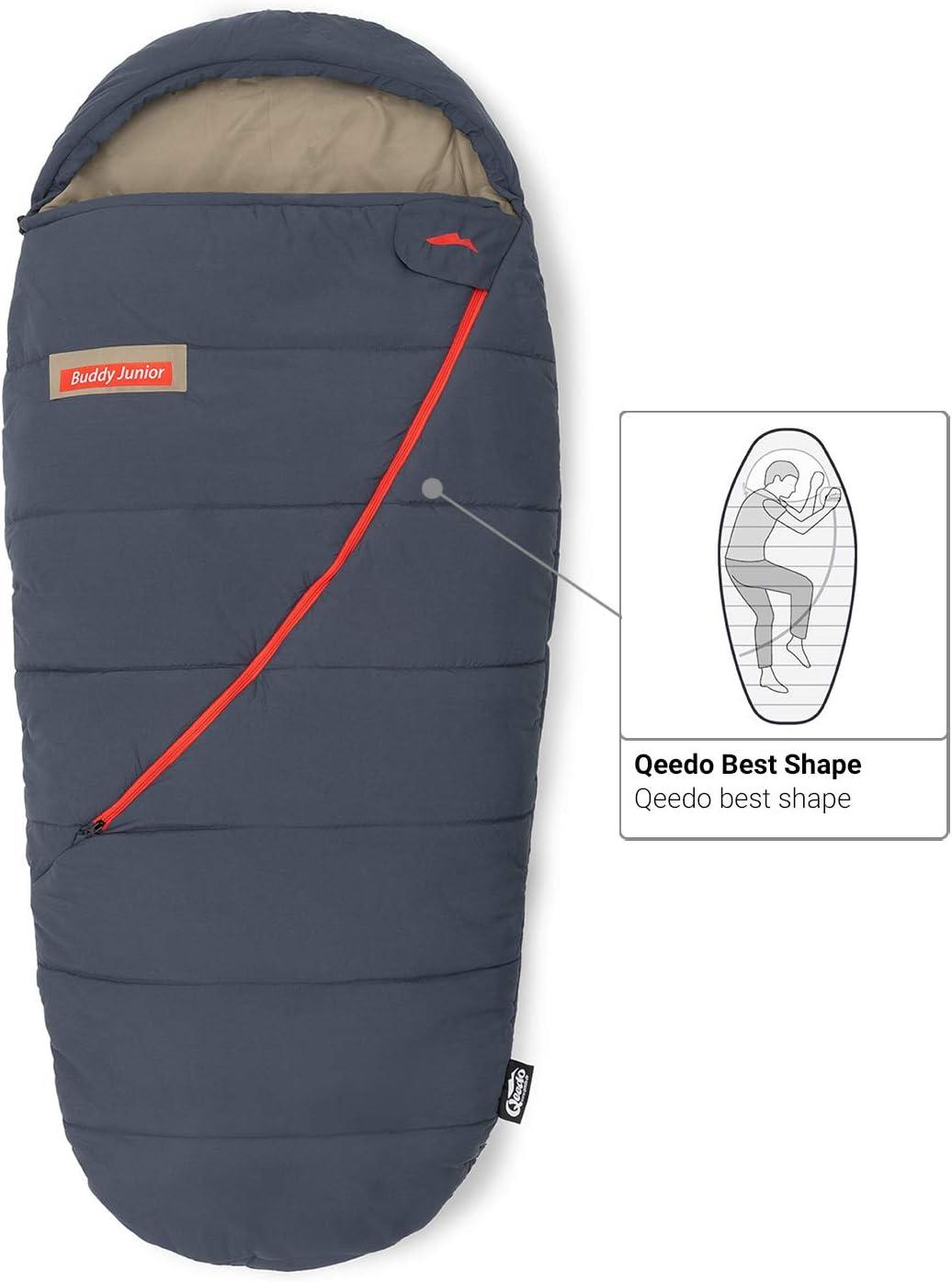 Best Shape Comfort Control Qeedo Buddy Junior Sac de Couchage Enfant Soft Touch