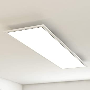 Briloner Leuchten - LED Deckenleuchte-Panel, LED-Lampe, Wohnzimmer ...