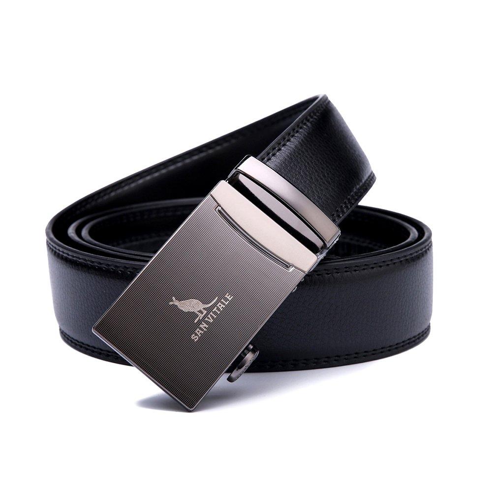 ceinture pour hommes SAN VITALE Ceinture Homme Designer Relax réversible  bouclée avec cliquet automatique ceinture pour homme en cuir ceinture pour  homme de ... 7367dbb7978