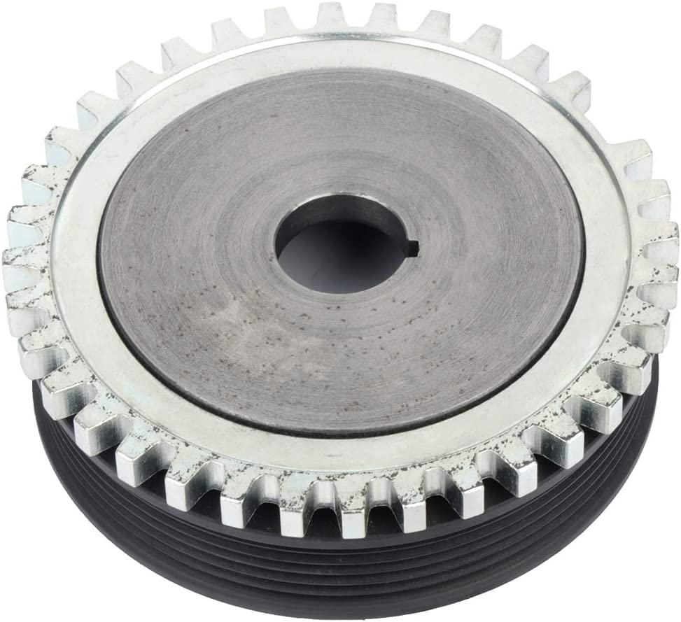 FEIPARTS Harmonic Balancer Crankshaft Pulley Fit for 1991-2001 Ford Escort 1991-1999 Mercury Tracer PB1101-N 594-033