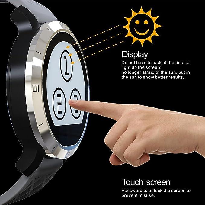 Bluetooth Smart reloj F69 IP68 Smart Fitness Tracker ...