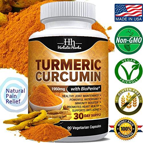 Holistic Herbs Turmeric Bioperine Curcuminoids