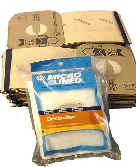 Amazon.com: 24 Electrolux C bolsas y 2 Después de filtros ...