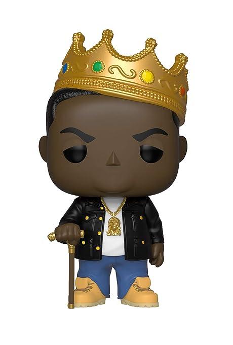 amazon com funko pop rocks music notorious b i g with crown