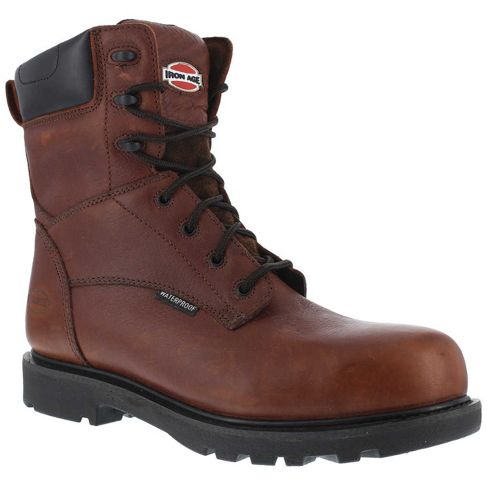 Iron Age Men's Ia0180 Hauler Industrial and Construction Shoe, Brown, 10 W US